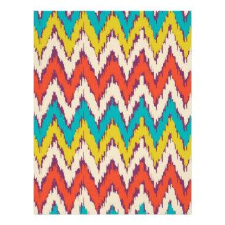Personalized Aztec Tribal Ziz Zag Pattern Gifts Letterhead