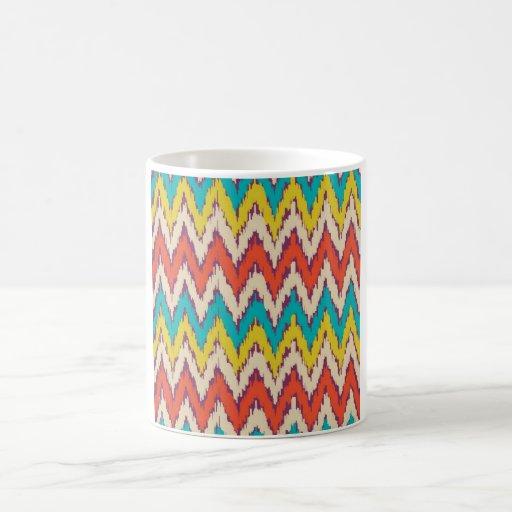 Personalized Aztec Tribal Ziz Zag Pattern Gifts Mugs