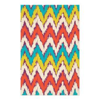 Personalized Aztec Tribal Ziz Zag Pattern Gifts Stationery