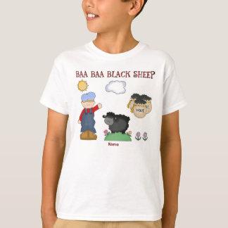 Personalized Baa Baa Black Sheep, Nursery Rhyme T-Shirt