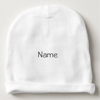 Personalized Baby Baby Beanie