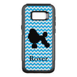 OtterBox Commuter Samsung Galaxy S8+ Case with Poodle Phone Cases design