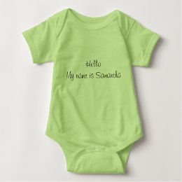 Triplet baby clothes apparel zazzle personalized baby body suits baby bodysuit negle Image collections