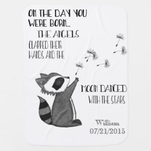 Quotes Baby Blankets Zazzle