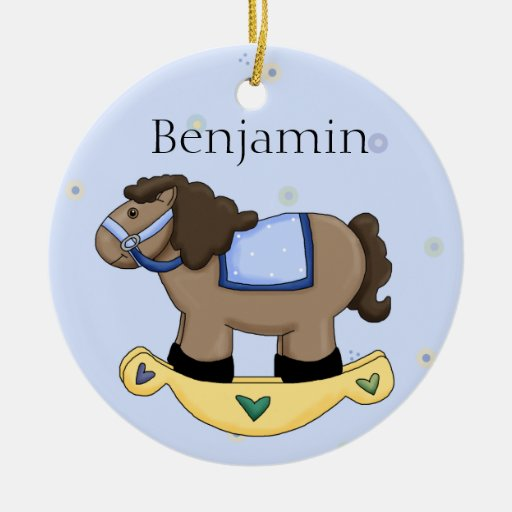 Personalized Baby Boy Ornament