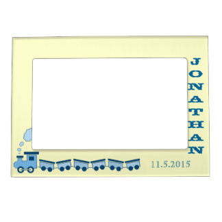 Personalized Baby Boy Photo Frame Magnetic Frame