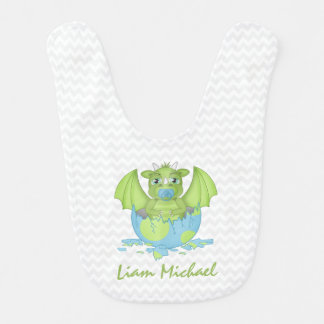 Personalized Baby Dragon Bib