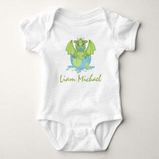 Personalized Baby Dragon Jersey Bodysuit