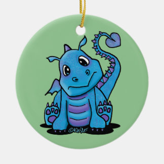 Personalized Baby Dragon Ornament