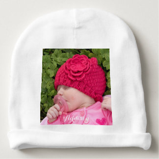 Personalized Baby Hat Infant Beanie Add Photo