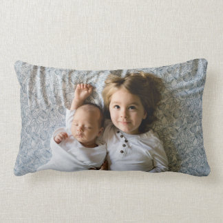 Personalized Baby Kids Photo Sweet Dreams Lumbar Pillow