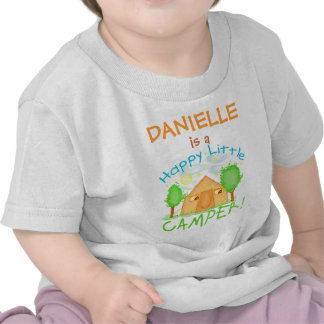Personalized Baby / Kids Summer Camping T-Shirt