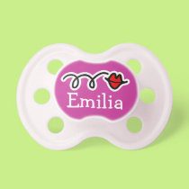 Personalized baby pacifier / Soother binkie dummy