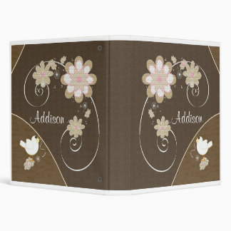 Personalized Baby Photo Book 3 Ring Binder