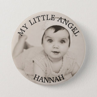 Personalized Baby Photo Button