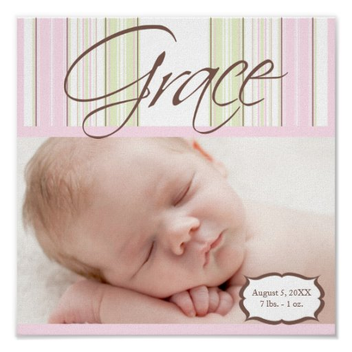 Personalized Baby Print