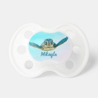 Personalized Baby Sea Turtle Pacifier