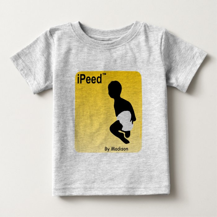Personalized Baby Shirt Ipeed By Madison Baby T Shirt