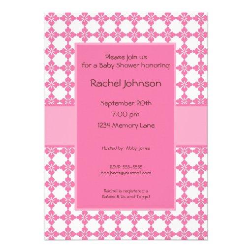 personalized baby shower invitation zazzle