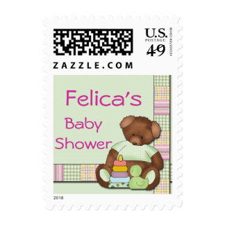 Personalized Baby Shower Postage