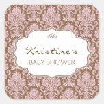 Personalized Baby Shower Sticker