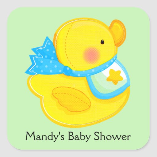 personalized baby shower stickers zazzle