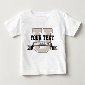 Personalized Baby University T Shirt
