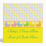 Personalized BabyBook Photo Album/Binder Vinyl Binder