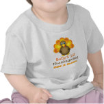 Personalized Babys 1st Thanksgiving Turkey Tee