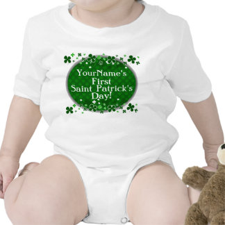 Personalized Baby's First Saint Patrick's Day Tshirts