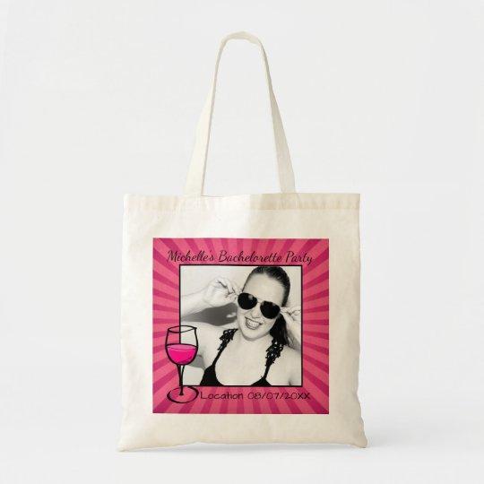 Personalized Bachelorette Frame Tote Bag | Zazzle.com
