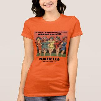 Personalized bachelorette party T-Shirt