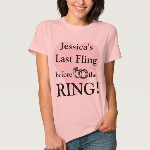 Personalized Bachelorette Party T Shirts