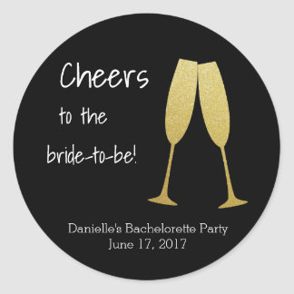 Personalized Bachelorette Stickers