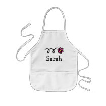 Personalized baking apron for kids