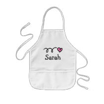 Personalized baking apron for kids Birthday party