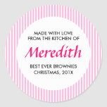 Personalized Baking, Jam, Canning or Product Round Stickers