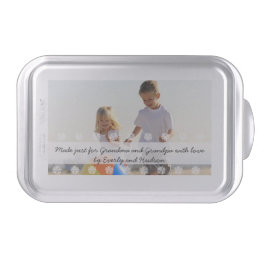Personalized Baking Pan Photo and Text