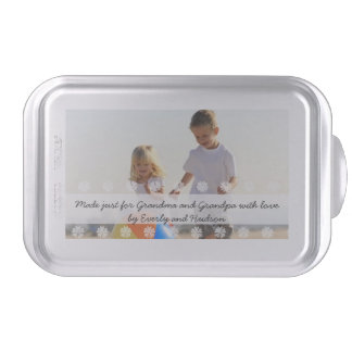 Personalized Baking Pan Photo and Text Cake Pan