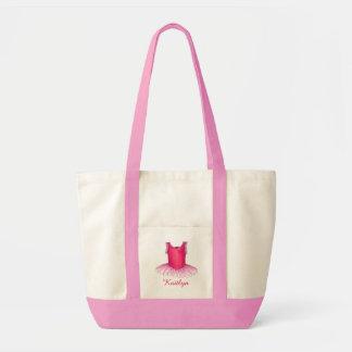 Personalized Ballet Ballerina Dance Class Bag