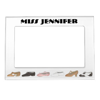 Personalized Ballet Tap Dance Teacher Gift Frame