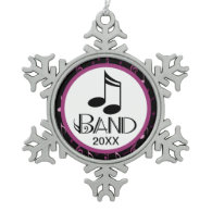 Personalized Band Music Gift Ornaments