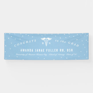 Personalized Banner for Nurse Graduation Party