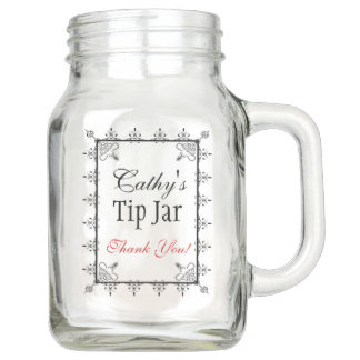 Personalized Bar or Restaurant Tip Jar