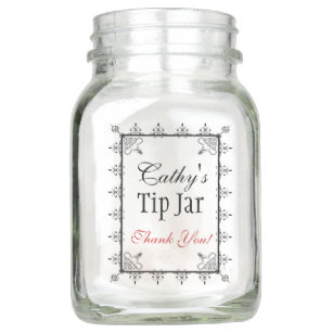Tip Mason Jars Zazzle