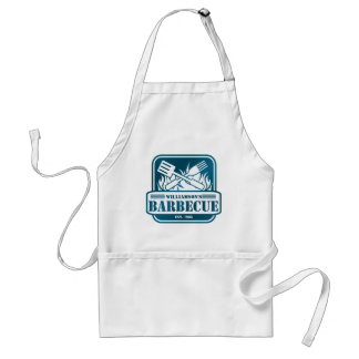 Personalized Barbecue Adult Apron