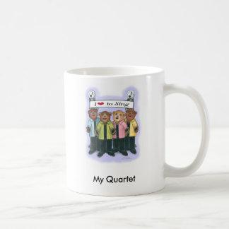 Personalized Barbershop Quartet Mug - Female
