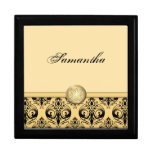Personalized Baroque Style Jewelry Box