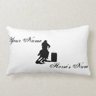 Personalized Barrel Racing Pillow