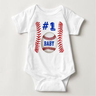 Personalized Baseball Apparel for Babies Shirt
